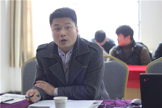 胡剑锋副校长出席江西科技学院思诚科技第三届3G软件开发校企合作订单班开班典礼吴金舟院长主持
