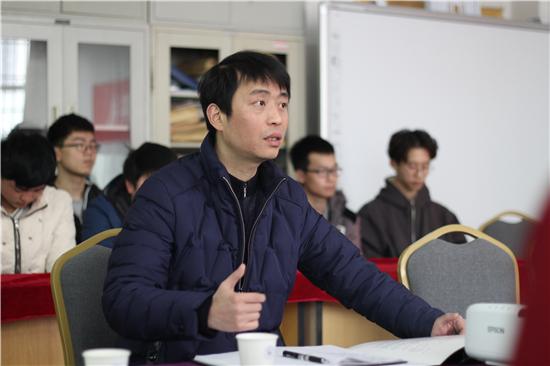 胡剑锋副校长出席江西科技学院思诚科技第三届3G软件开发校企合作订单班开班典礼肖华波副院长发言