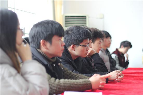 胡剑锋副校长出席江西科技学院思诚科技第三届3G软件开发校企合作订单班开班典礼