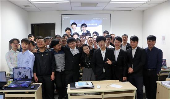 SC1702-2全体学员第一阶段项目评审大合影