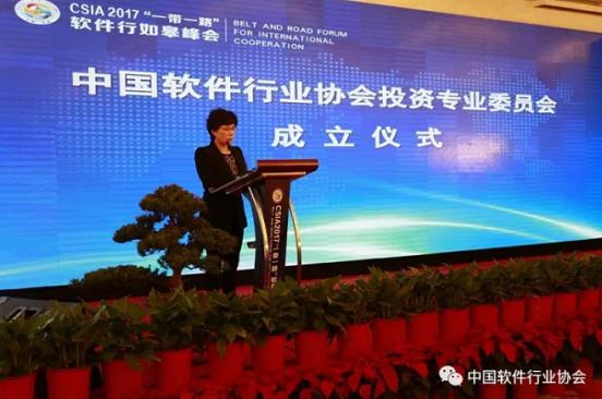 中国软件行业协会投资专业委员会成立1